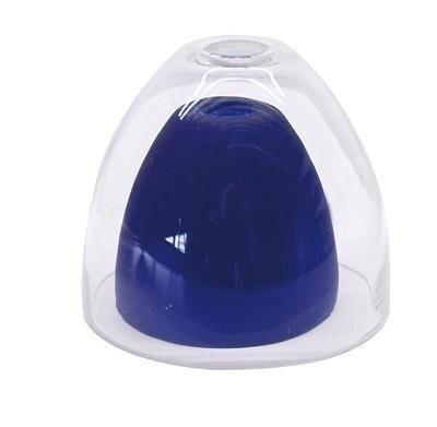 Deko-Light Schienensystem One 12V, Glas für Pendelleuchte II Klar / Blau gefrostet, klar / transpare