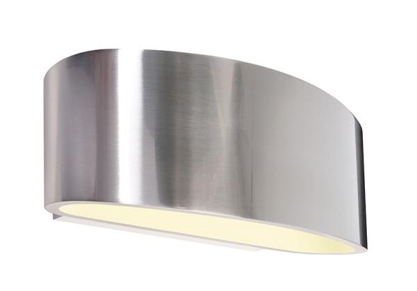 Deko-Light Wandaufbauleuchte, Arietis, Aluminium Druckguss, silberfarben, 42W, 230V, 170x85mm