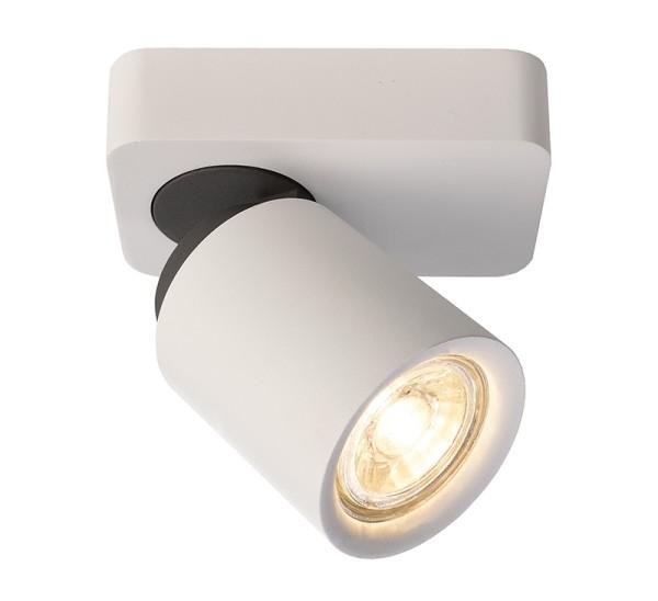 Deko-Light Deckenaufbauleuchte, Librae Linear I, Aluminium, weiß matt, 50W, 230V, 122x72mm