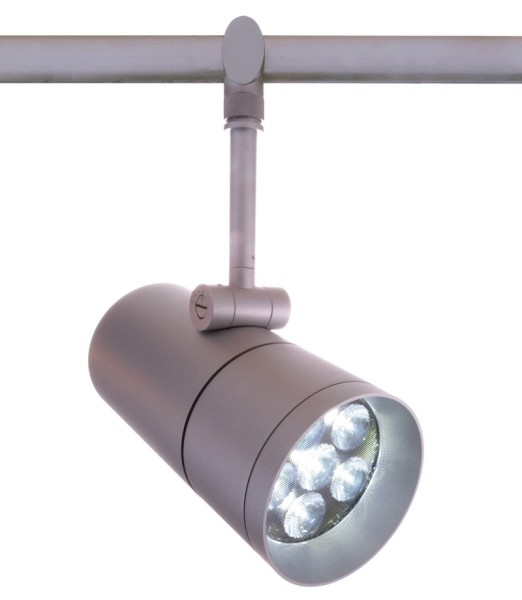 One HV-System, Spot Fanale 6x 3W Power LED, satin