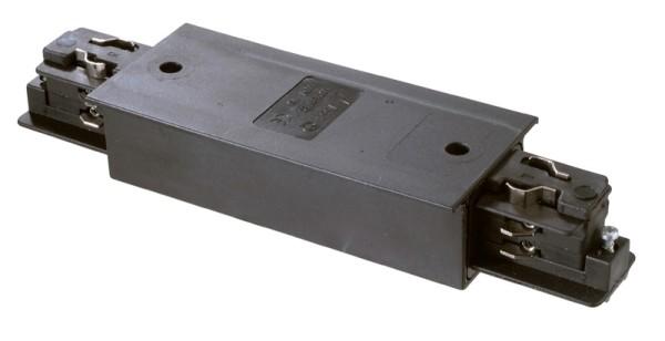 3-phasen Längsverbinder schwarz Flügelschiene mit