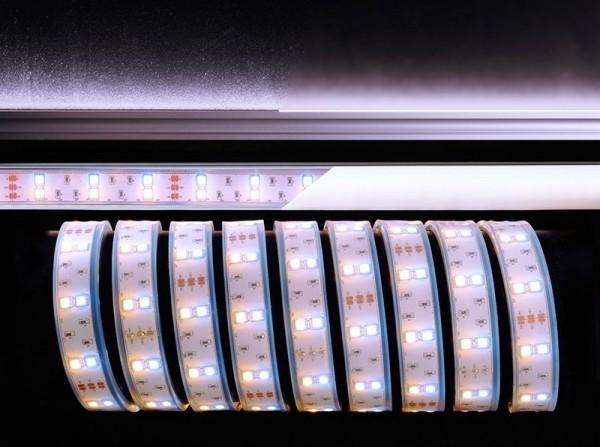 Deko-Light Flexibler LED Stripe, 5050-2x30-12V-3000K-7000K-3m, Kupfer, Weiß, Warmweiß + Kaltweiß