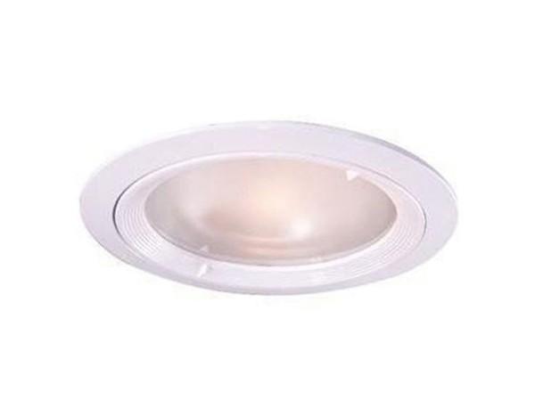 Kapego Deckeneinbauleuchte, exklusive Leuchtmittel, Weiß, Abstrahlwinkel: 60°, spannungskonstant