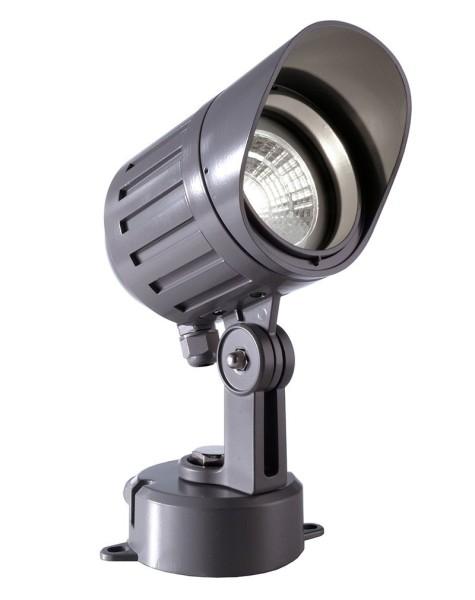 Deko-Light Boden- / Wand- / Deckenleuchte, Power Spot COB V NW, Aluminium Druckguss, anthrazit, 25°