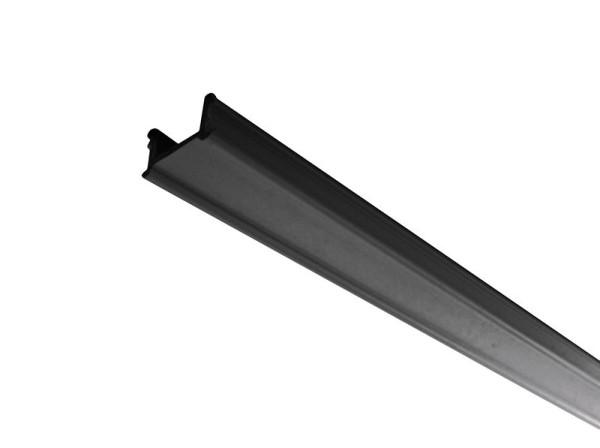 Ivela Schienensystem 3-Phasen 230V, Abdeckung, Kunststoff, Schwarz, 1000mm