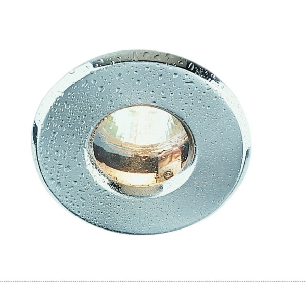 OUT 65 Downlight, rund, chrom, MR16, max. 35W