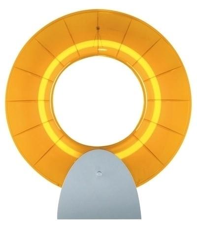 Wandlampe Collar Gelb, 55 Watt