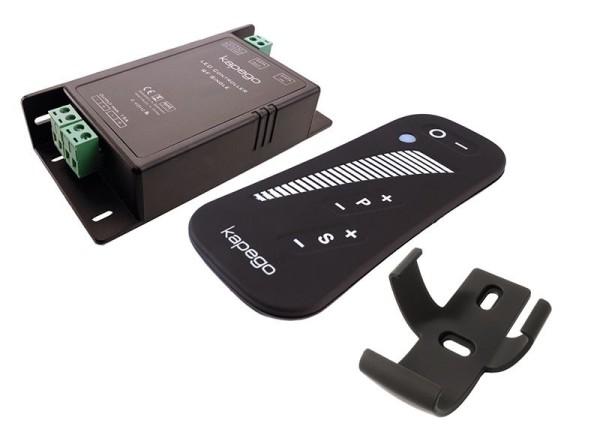 Deko-Light Controller, RF Single Remote, Kunststoff, Schwarz, 12-24V, 115x57mm