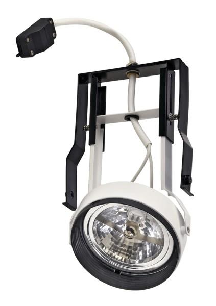 QR111 MODUL MOVE, für AIXLIGHT PRO Einbaurahmen, QR-LP111, weiß matt, max. 75W