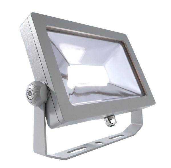 Deko-Light Boden- / Wand- / Deckenleuchte, FLOOD SMD, Aluminium Druckguss, silberfarben, Neutralweiß