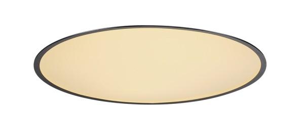MEDO 60, Einbauleuchte, LED, 3000K, rund, schwarz, Ø 61 cm, 40 W