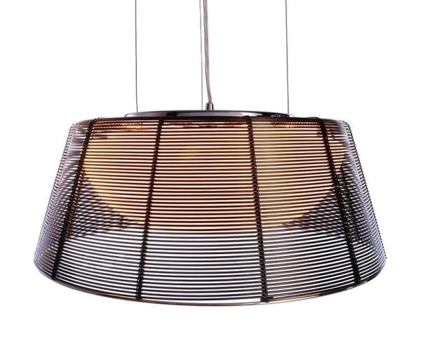 Deko-Light Pendelleuchte, Filo Sat, Metall, schwarz, 60W, 230V