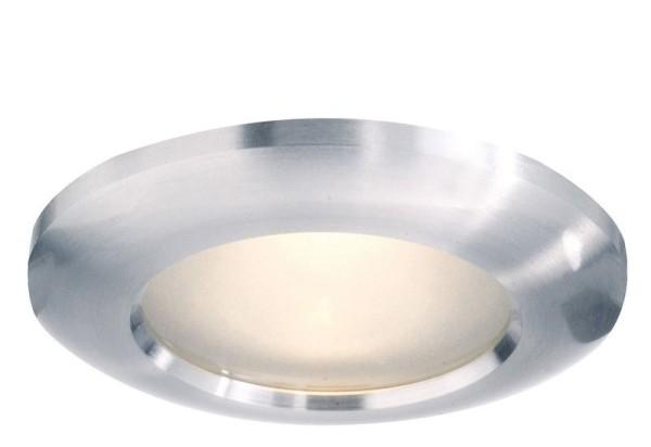 Deko-Light Deckeneinbauring, Aluminium, silberfarben, 50W, 230V