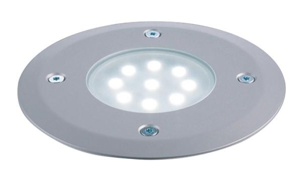 LED Floor Bodeneinbaustrahler 24V 9x0,1W