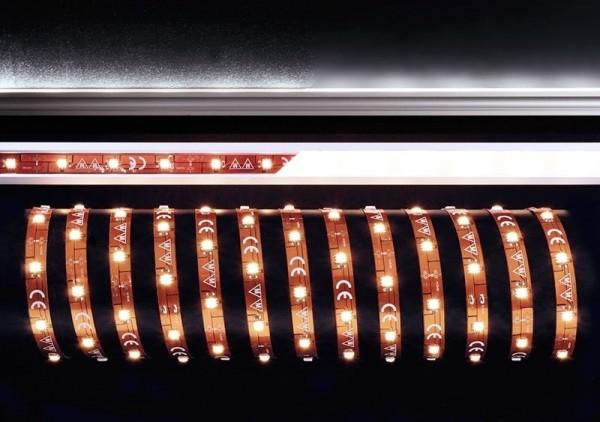 Deko-Light Flexibler LED Stripe, 5050-30-12V-6500K-5m, Kupfer, Kupfer, Kaltweiß, 120°, 28W, 12V