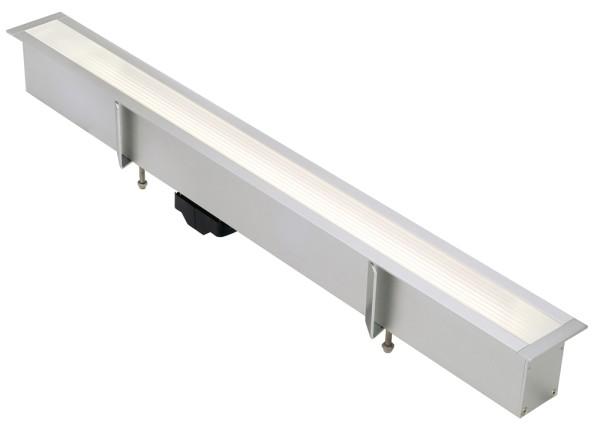 T5-BAR, Einbauleuchte, rechteckig, aluminium eloxiert, max. 24W