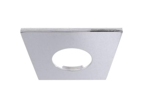 Deko-Light Zubehör, Abdeckung Chrom eckig für COB 68 IP65 + Mizar II, Aluminium, Silber Chrom