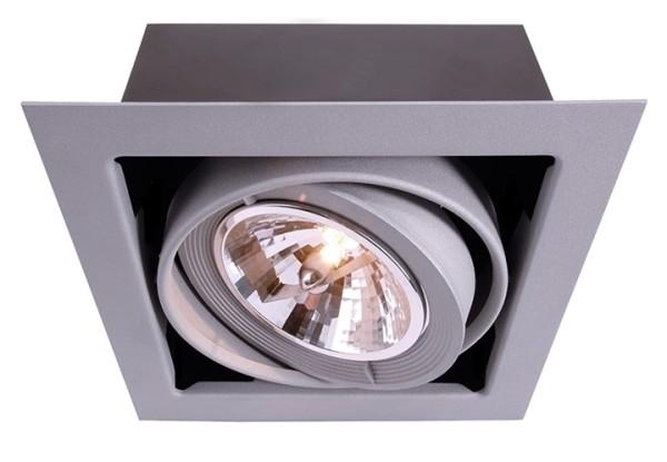 Deckeneinbauleuchte, Kardan, spannungskonstant, 12V AC/DC, G53 / QR111, 50,00 W
