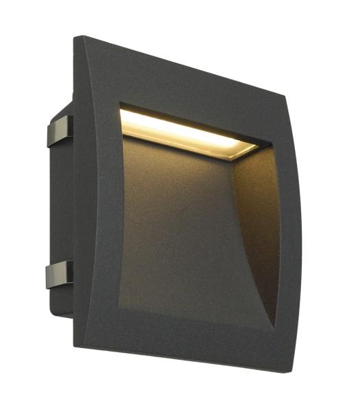 DOWNUNDER OUT LED L, Outdoor Wandeinbauleuchte, LED, 3000K, anthrazit
