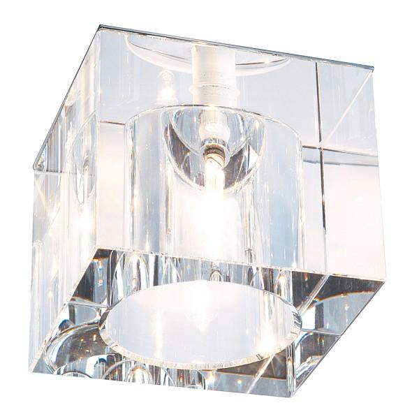 YUDI, Einbauleuchte, QT12, eckig, Kristall klar, max. 35W