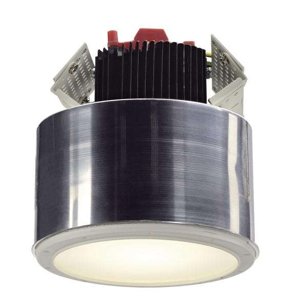 LED DOWNLIGHT PRO R, Einbauleuchte, 2700K, Frameless, rund, weiß, 12W, inkl. LED Disk Modul 800lm