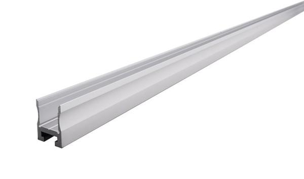 Reprofil Profil, Nuten-Profil, U-hoch AU-03-12, Aluminium, Silber-matt eloxiert, 2000mm