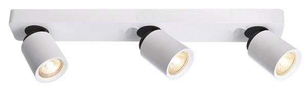 Deko-Light Deckenaufbauleuchte, Librae Linear III, Aluminium, weiß matt, 50W, 230V, 542x72mm