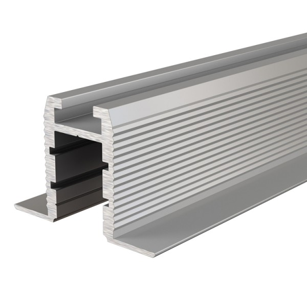 Reprofil, Trockenbau-Profil, Wand-Decke ET-03-10 für LED Stripes bis 11,3 mm, Silber-matt, eloxiert