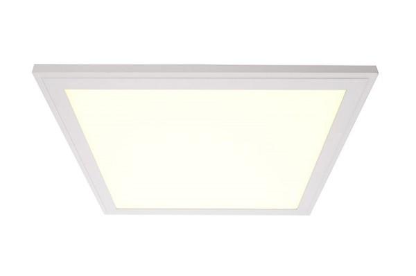 Deko-Light Deckeneinbauleuchte, LED Panel 3K SMALL, Aluminium, weiß matt, Warmweiß, 115°, 25W, 700mA