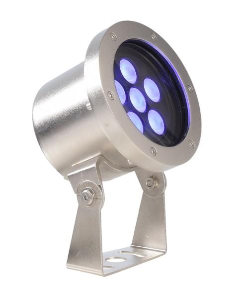 Deko-Light Unterwasserleuchte, Fiara, Edelstahl, silberfarben, RGB, 20°, 21W, 24V, 127x120mm