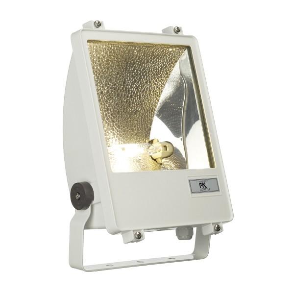 SXL HIT-DE STRAHLER, Outdoor Strahler, HIT-DE, IP65, weiß, max. 150W