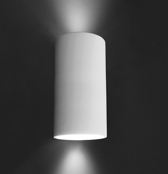 Deko-Light Wandaufbauleuchte, Essa III, exklusive Leuchtmittel, 220-240V AC/50-60Hz, GU10, Gips