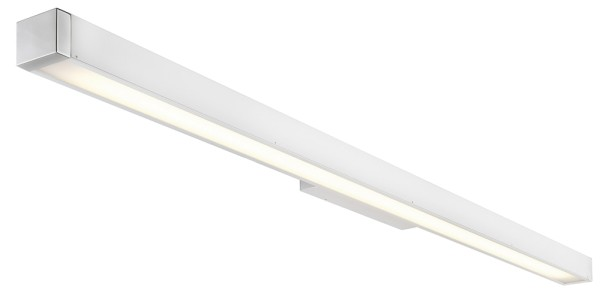 Q-LINE WALL, Wandleuchte, T16, weiß/chrom, max. 35W, inkl. EVG