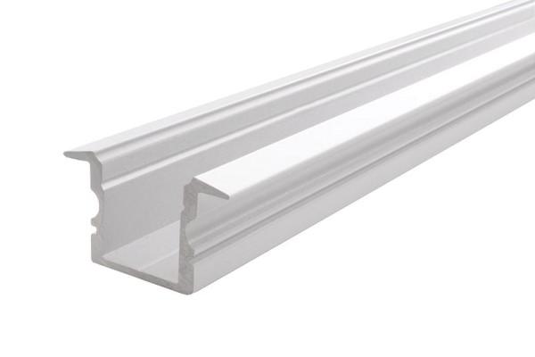 Reprofil Profil, T-Profil hoch ET-02-10, Aluminium, Weiß-matt, 2000mm