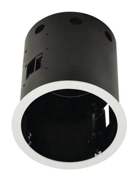 EINBAURAHMEN 1 FRAME, für AIXLIGHT PRO, rund, weiß matt, Ø/H 17,5/18,5 cm