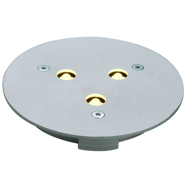 FURNITURE LED ROUND Downlight rund, aluminium, warmweisse LED, 3000K