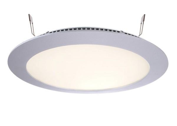 Deko-Light Deckeneinbauleuchte, LED Panel 16, Aluminium Druckguss, silberfarben, Warmweiß, 115°, 13W