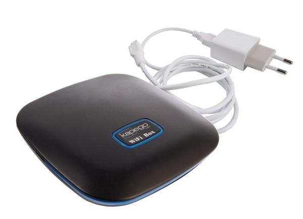 Deko-Light Controller, RF Wifi Box II 2.4 GHz, Kunststoff, Schwarz, 5W, 5V, 106x106mm
