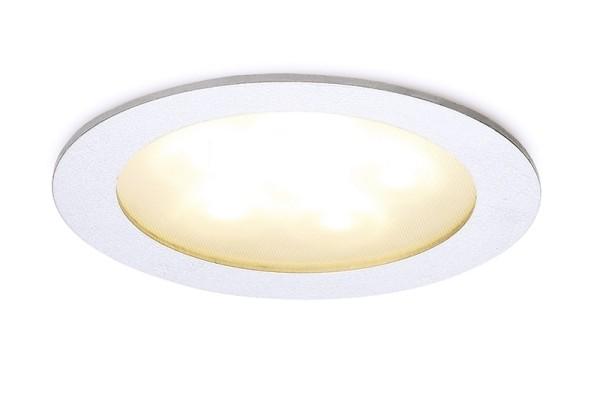Einbaudownlight LED 6 / 6 LEDs 14,7 Watt weiß