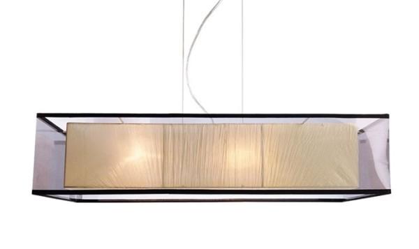 Kapego Pendelleuchte, Capella II, exklusive Leuchtmittel, spannungskonstant, 220-240V AC/50-60Hz