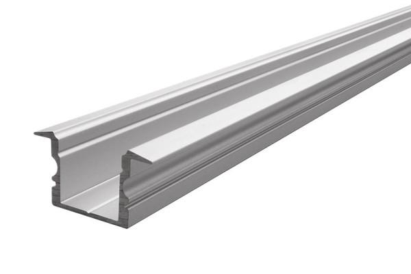 Reprofil Profil, T-Profil hoch ET-02-12, Aluminium, Silber-matt eloxiert, 2000mm