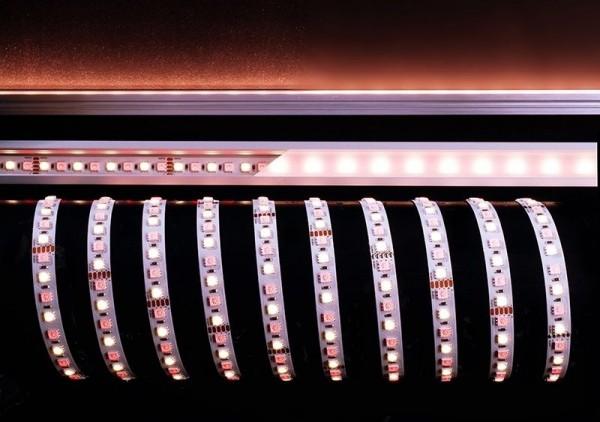 Deko-Light Flexibler LED Stripe, 5050-96-24V-RGB+4200K-5m, Kupfer, Weiß, RGB + Neutralweiß, 120°