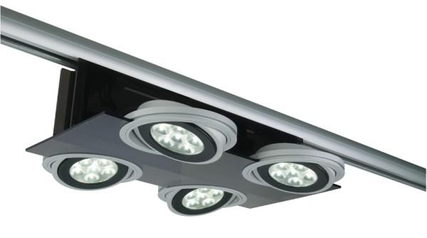 3-phasen Spot Parasol II 4 x AR111 LED