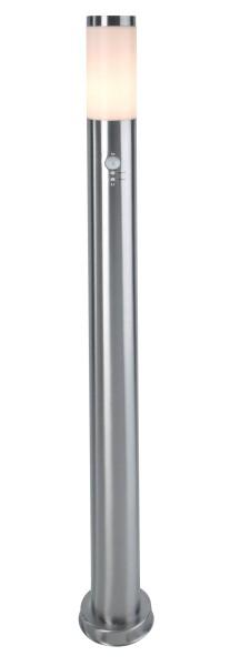 Deko-Light Stehleuchte, Nova Motion, Edelstahl, silberfarben, 40W, 230V