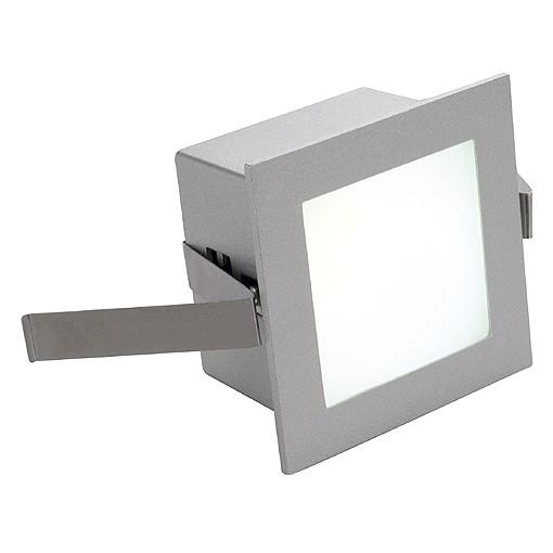 FRAME BASIC LED einbauleuchte, eckig, silbergrau, weisse LED