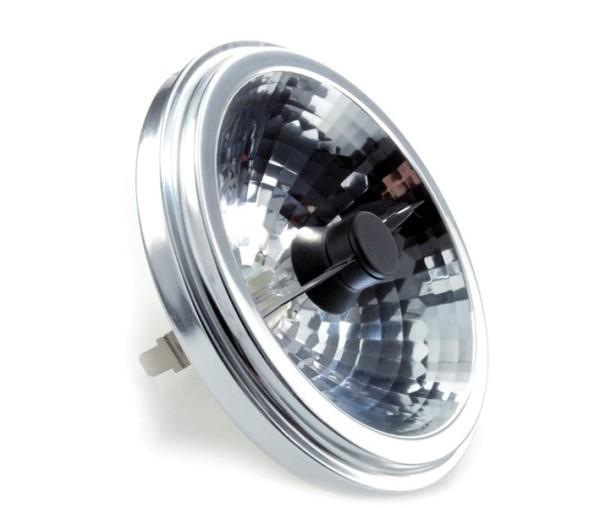 Kapego Leuchtmittel, Reflektorlampe, Warmweiß, Abstrahlwinkel: 24°, 12V AC/DC, G53 / QR111, 28,00 W