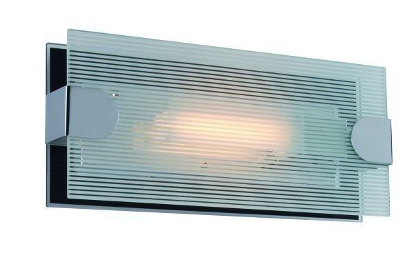 Wandleuchte Loncha , Glas klar/ schwarz 26 Watt G24q-3, 230 Volt, inkl. EVG, inkl. Leuchtmittel 827