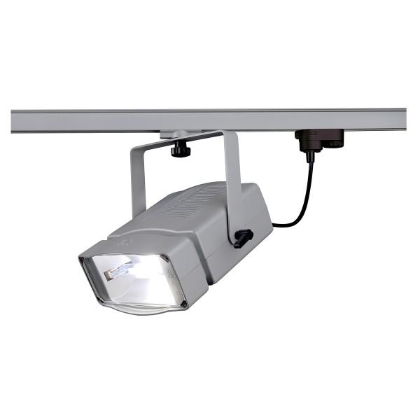 SDL 150, Strahler für Hochvolt-Stromschiene 3Phasen, HIT-DE-CE, silbergrau, max. 150W