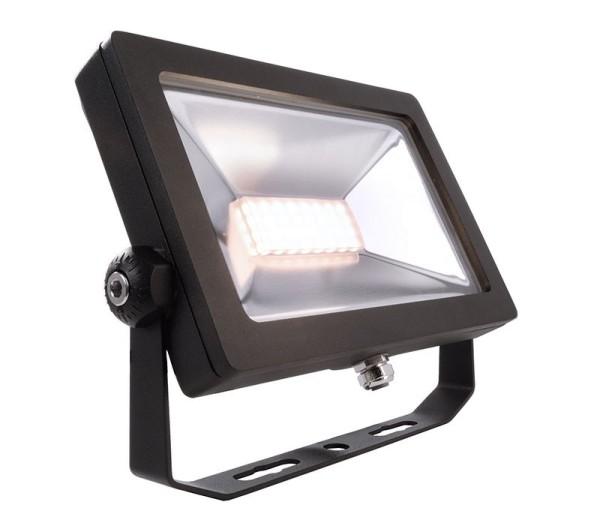 Deko-Light Boden- / Wand- / Deckenleuchte, FLOOD SMD I, Aluminium Druckguss, schwarz, Warmweiß, 100°