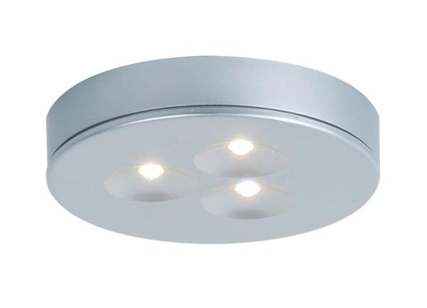 Möbelein / Aufbauleuchte , LED 3x1W, cool weiß